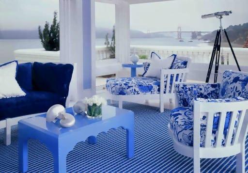 Bold Monochromatic Interior